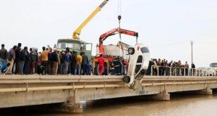 سقوط به رودخانه اروندکنار