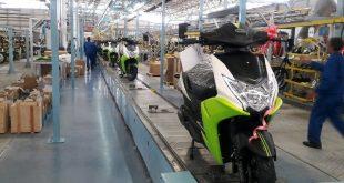 خط تولید موتور سیکلت